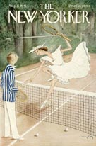 New Yorker Covers - Tennis (No. 69410816)