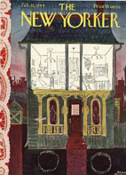 New Yorker Cover - 1944 (No. 69440212)