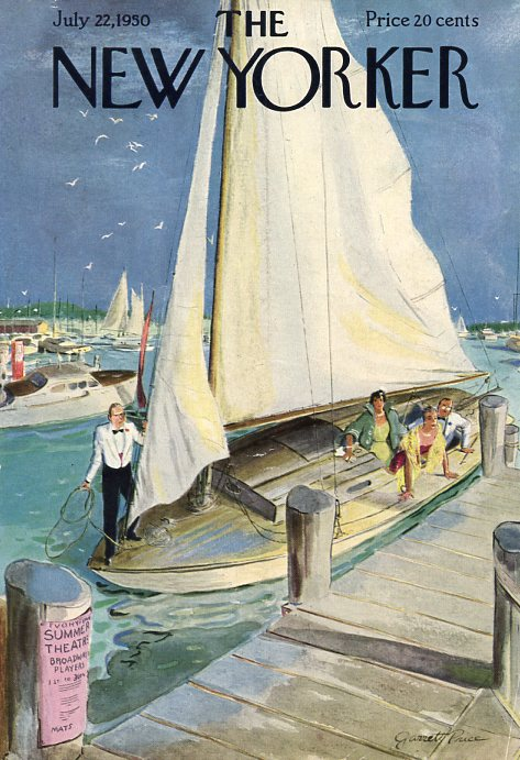 New Yorker Covers - Sailing