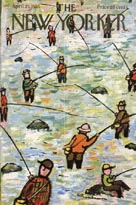 New Yorker Cover - Fishing (No. 69550423)