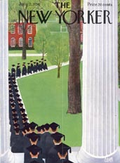 New Yorker Cover - 1956 (No. 69560602)