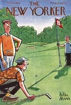 New Yorker Covers - Golfing