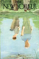 New Yorker Cover - 1958 (No. 69580712)