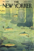 New Yorker Cover - Fishing (No. 69590502)