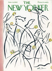 New Yorker Cover - 1962 (No. 69620616)