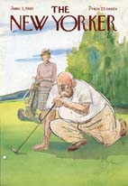 New Yorker Cover - 1965 (No. 69650605)