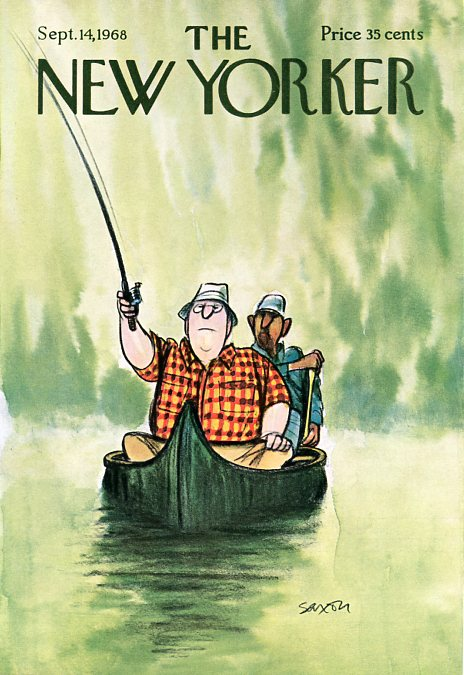 New Yorker Covers - Fishing