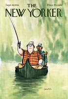 New Yorker Cover - Fishing (No. 69680914)