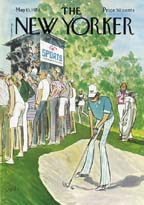 New Yorker Cover - 1974 (No. 69740513)