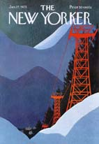 New Yorker Cover - 1975 (No. 69750127)