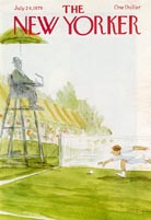 New Yorker Covers - Tennis (No. 69780724)
