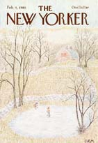 New Yorker Cover - 1980 (No. 69800204)