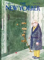 New Yorker Cover - 1981 (No. 69810216)