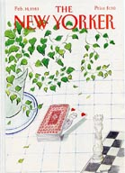 New Yorker Cover - 1983 (No. 69830214)