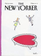 New Yorker Covers - Valentine's Day
