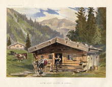 Dairy Farming Prints - Alpine Dairy (No. 22210015)