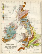 Dairy Farming Prints - British Isles Soil Types (No. 22210017)