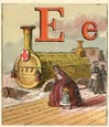Railroad Alphabet Print (No. 70680005)
