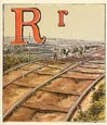 Railroad Alphabet Print (No. 70680017)