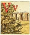 Railroad Alphabet Print (No. 70680021)